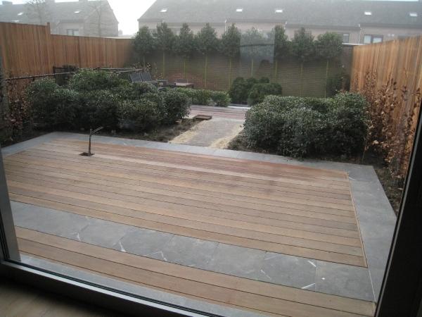 Aanleg terras en tuin nieuw huis morkhoven gratis foto albums seniorennet - Terras en tuin ontwikkeling foto ...