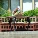 Mooi zitje op het terras van het landhuis