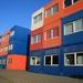 Woonblokken van containers (1)
