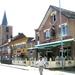 café t'Moleken met restanten van dorpskerk
