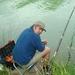 vissen op de Meuse
