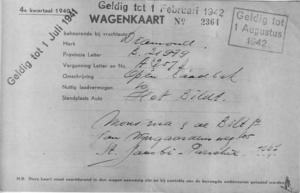 Wegenkaart