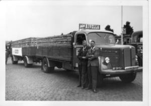 20. Scania 6 met Lieuwe Dol en Tjeerd Jongboom