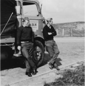48. DAF 17 op Afsluitdijk