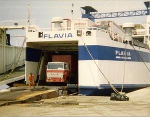 Ferry naar Griekenland