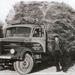Kromhout met lading vlas
