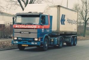 385 met Hapag Lloyd container