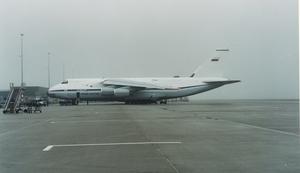 Antonov eindelijk op Schiphol
