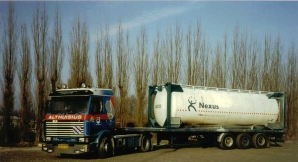 Charter Werkman met Nexus bulkcontainer