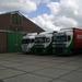 2 X Scania + DAF