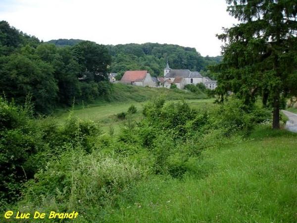 Ardennen Adeps wandeling Falaen