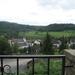 13jul2009: zicht op Wallendorf vanop hotelterras