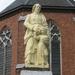 Sint Jozef beeld boven de dorpspomp