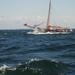 Zeilrace afgelast wegens te hevige wind !