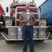 Roelof  en de beker en de Scania