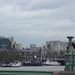 Gezicht op London vanaf de brug.