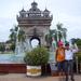 Arc de Triomphe en Vietnamees vriendje