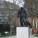 Standbeeld Winston Churchill.