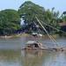 Vissers langs weg van Kratie naar Phnom Penh