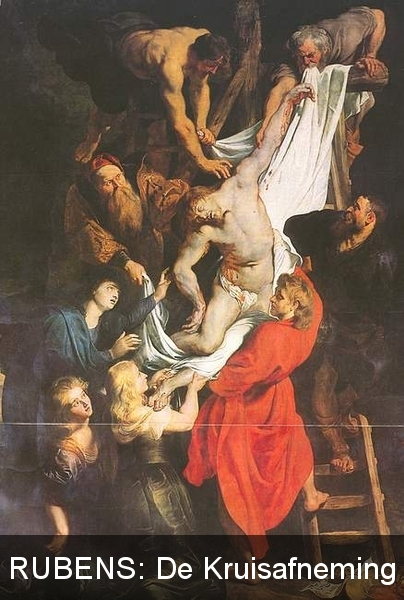 Antwerpen: OLV Kathedraal: De Kruisafneming