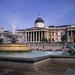 1A2 Trafalgar Square _fontein met zicht op national galery