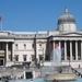 1A2 Trafalgar Square _zicht op de National Gallery