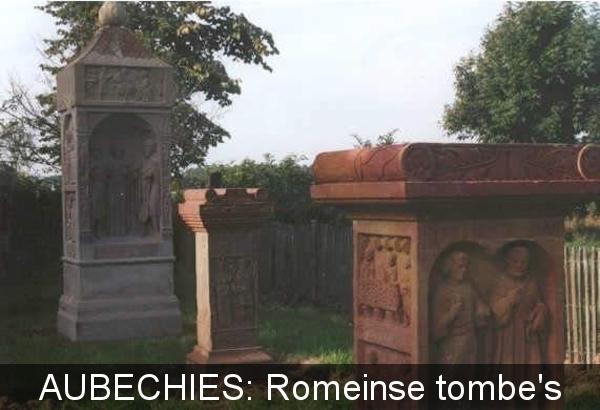 Aubechies Romeinse graftomben