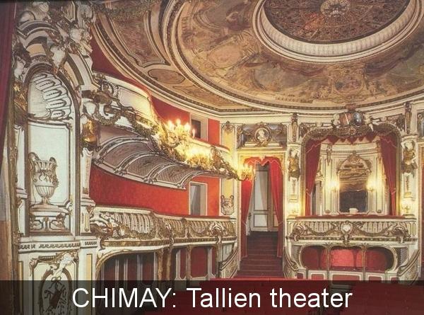 Chimay Tallien teater