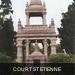 Court St Etienne grafzerk van een vrijmetselaar