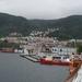 De haven van Bergen