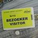 Veiligheids Badge Luchthaven!