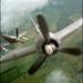 vliegtuig in beweging