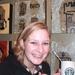 Marcella en haar StarBucks koffie.