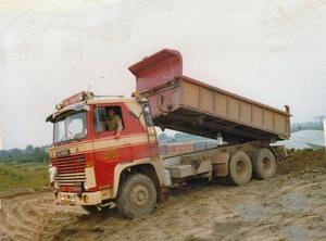 Scania kipper