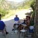 Middageten in Les Chênes