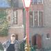 Andrea op de fotosessie van het Vlaams Belang