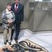 Andrea met Filip Dewinter in het Vlaams Parlement