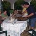 de grote vier Godinnen in Benidorm 27 spet. 2009 021