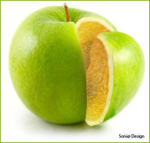 sinaas en appel kruising